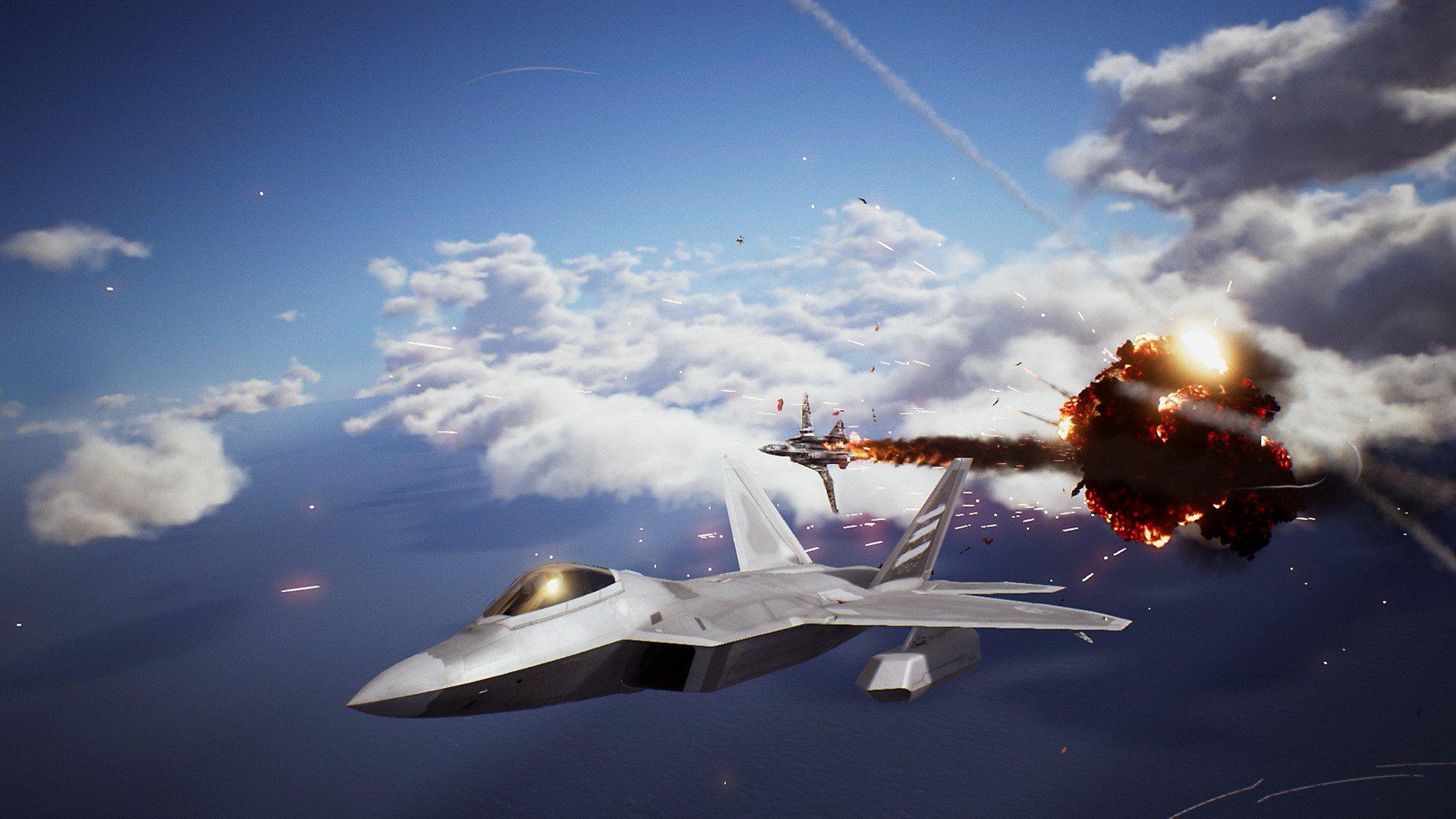 Ace combat 7 žaidimai